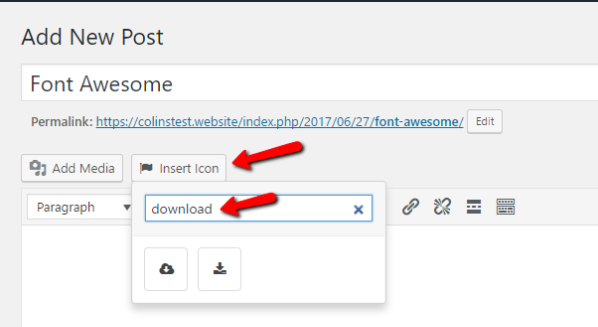 Better font awesome plugin