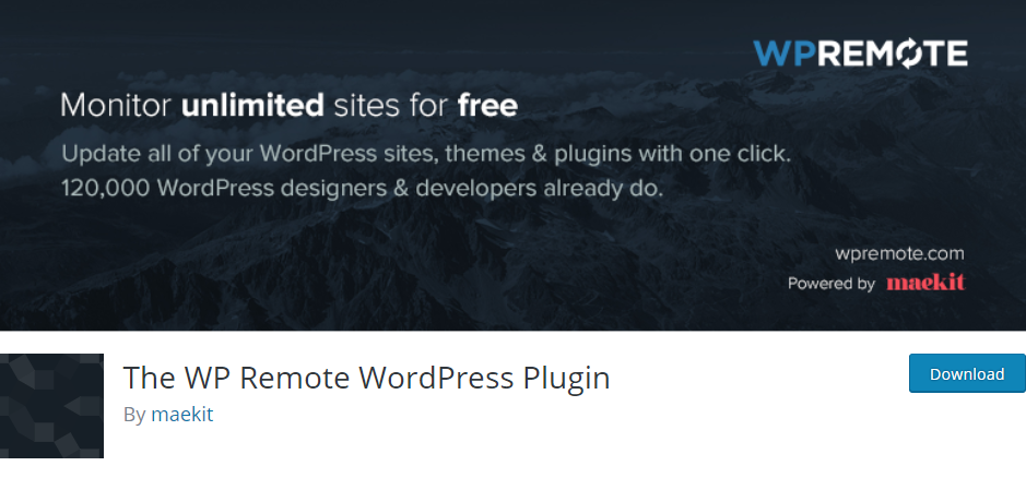 Manage WordPress Sites - WP remote