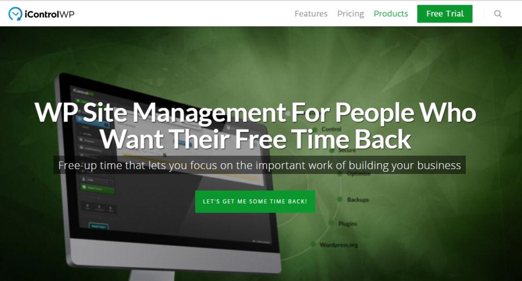 Manage WordPress sites - icontrolWP