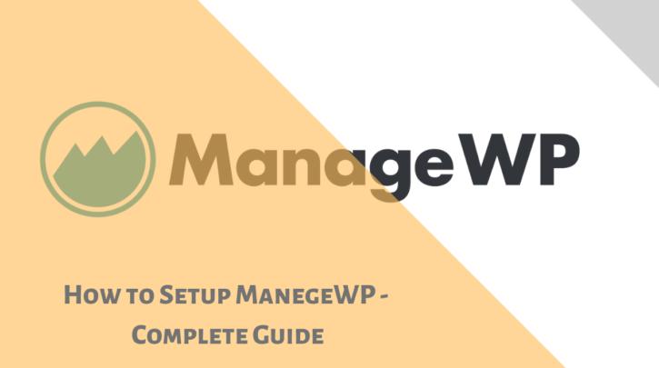 How to setup managewp