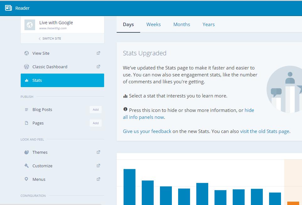 jetpack manage dashboard