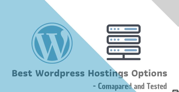 Best wordpress hostings 2019