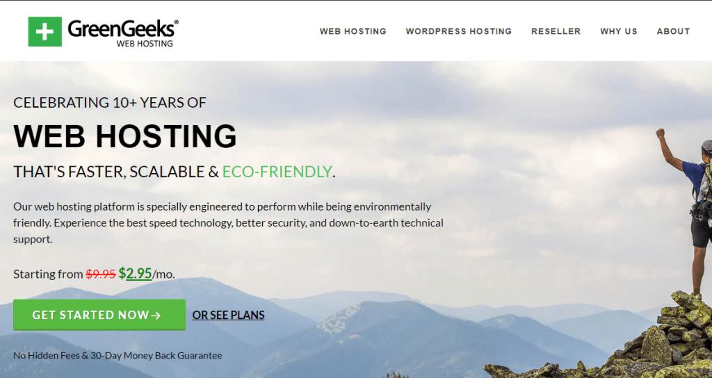 greenkgeeks wp hosting