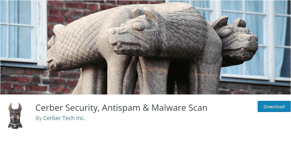 Cerber security - wordpress security plugins