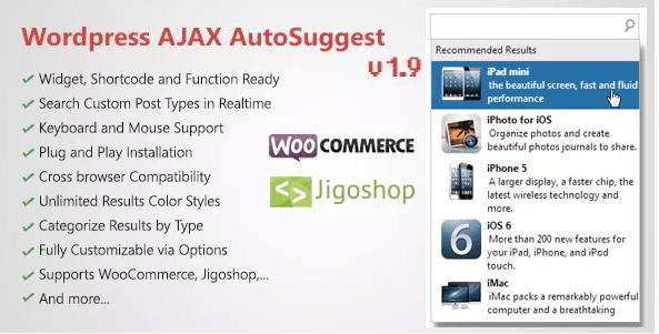 wordpress ajax auto sugesstion