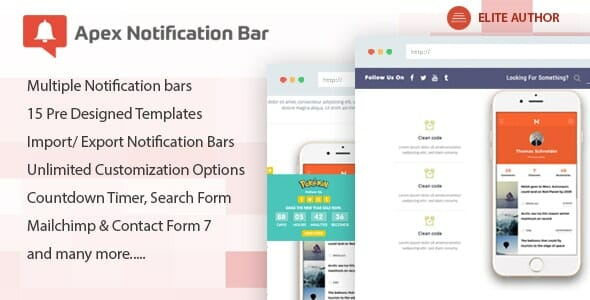 apex notification bar review