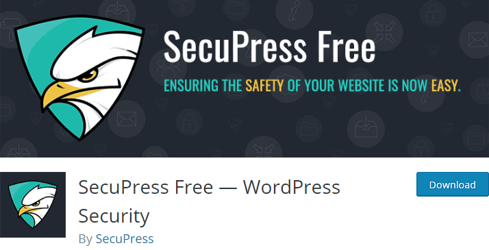 SecuPress: wordpress malware scanner and removal plugin