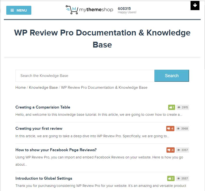 wp review pro documentation