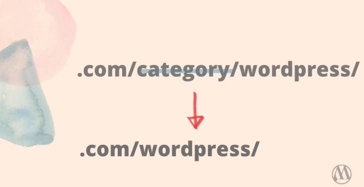 remove category prefix from urls