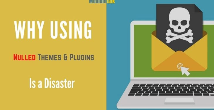 why using nulled themes plugins is bad idea