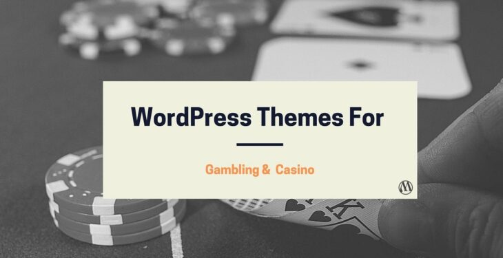 Gambling wordpress theme