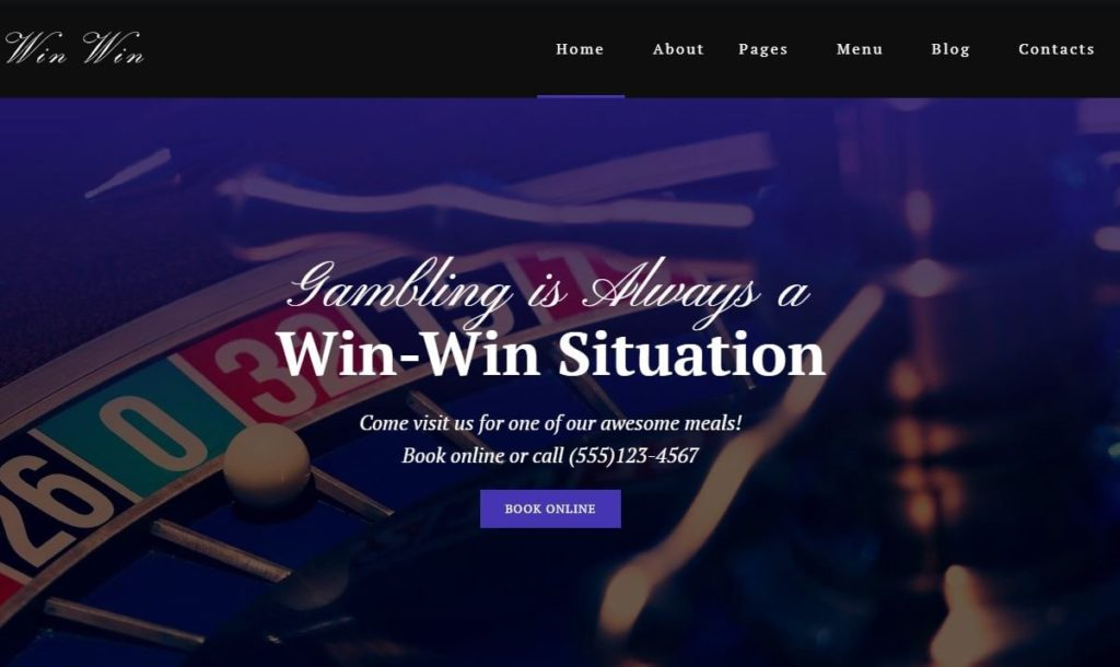 winwin casion wordpress theme